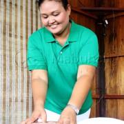 Massagen gehören zur Pflege dazu